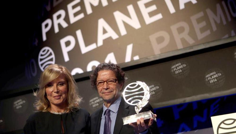 Zepeda y Eyre, finalista y ganador del LXIII Premio Planeta