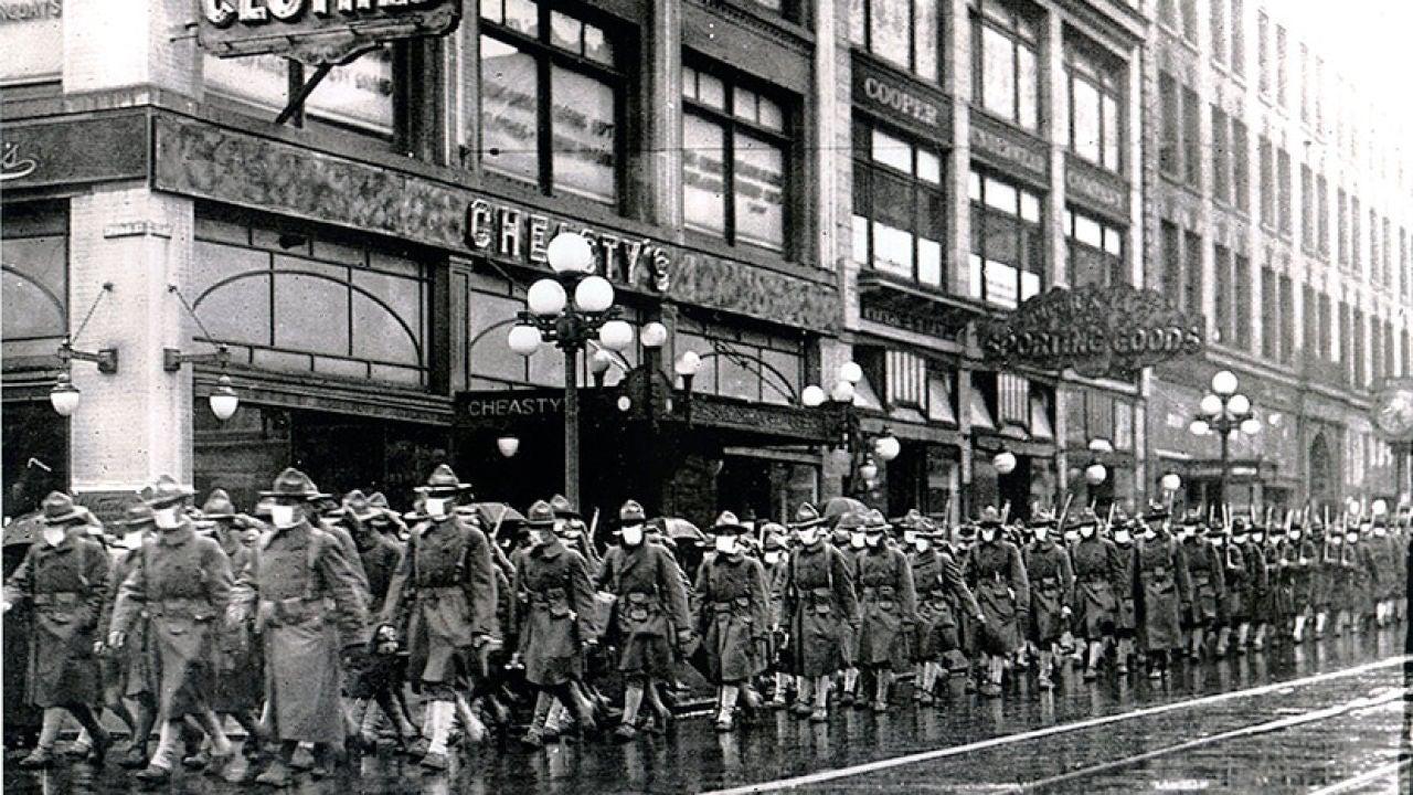 Cómo se protegía la población de la gran gripe española de 1918 ...
