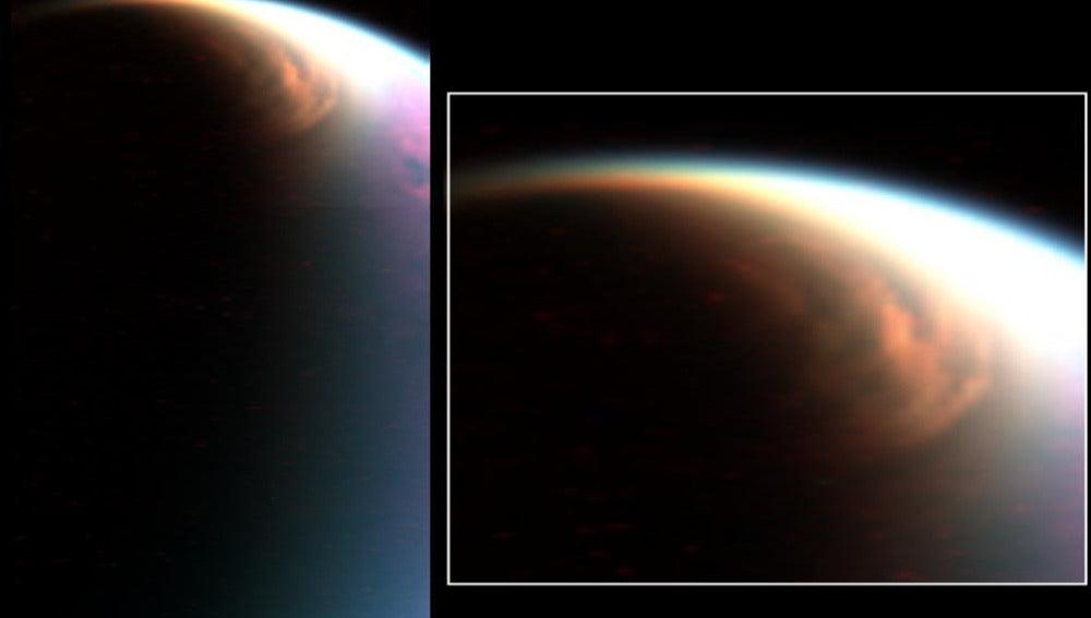 Nubes Titán