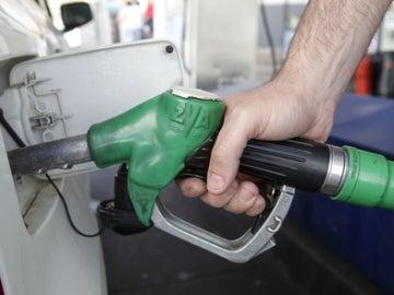 Repostaje gasolinera