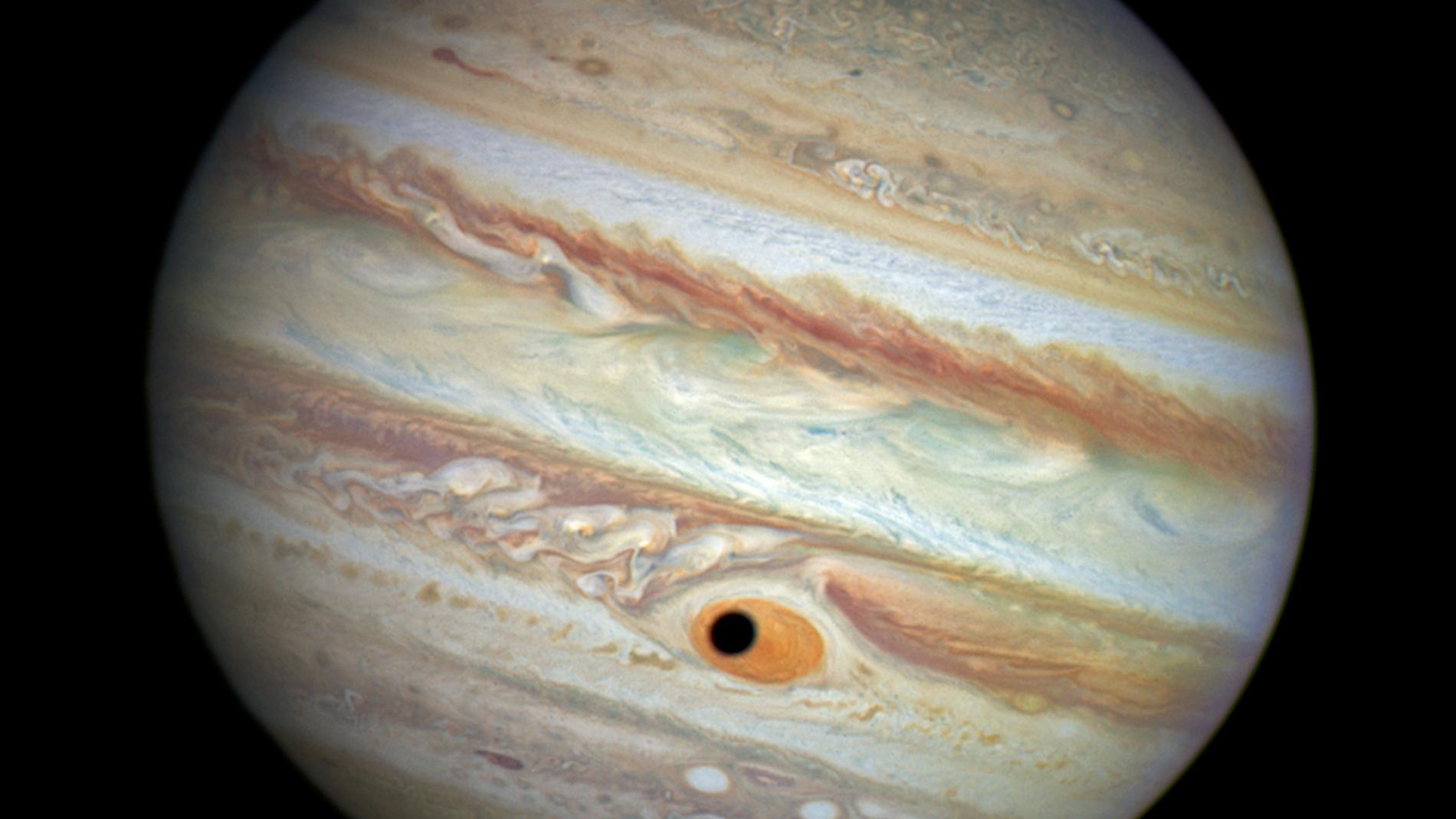 El guiño de Júpiter