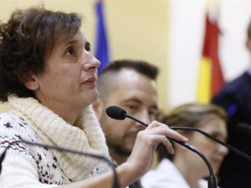 Teresa Romero en su comparecencia