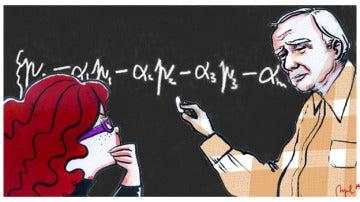 Dirac nos muestra su ecuación