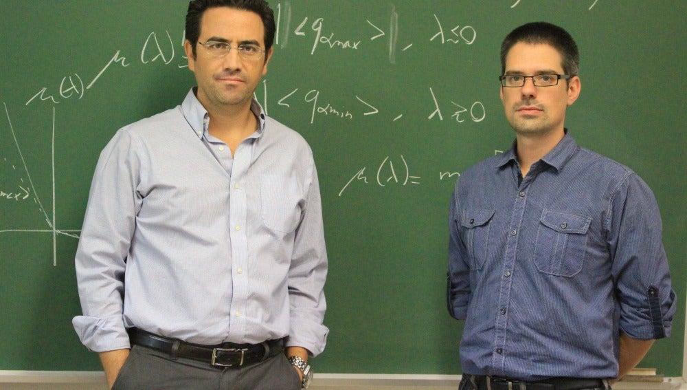Los investigadores Pablo Ignacio Hurtado