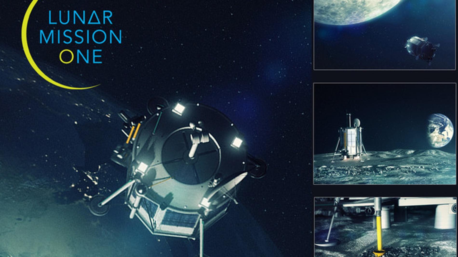 Imagen corporativa de la Lunar Mission One