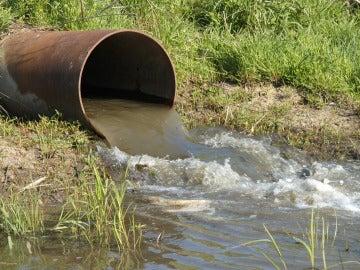 El agua contaminada mata