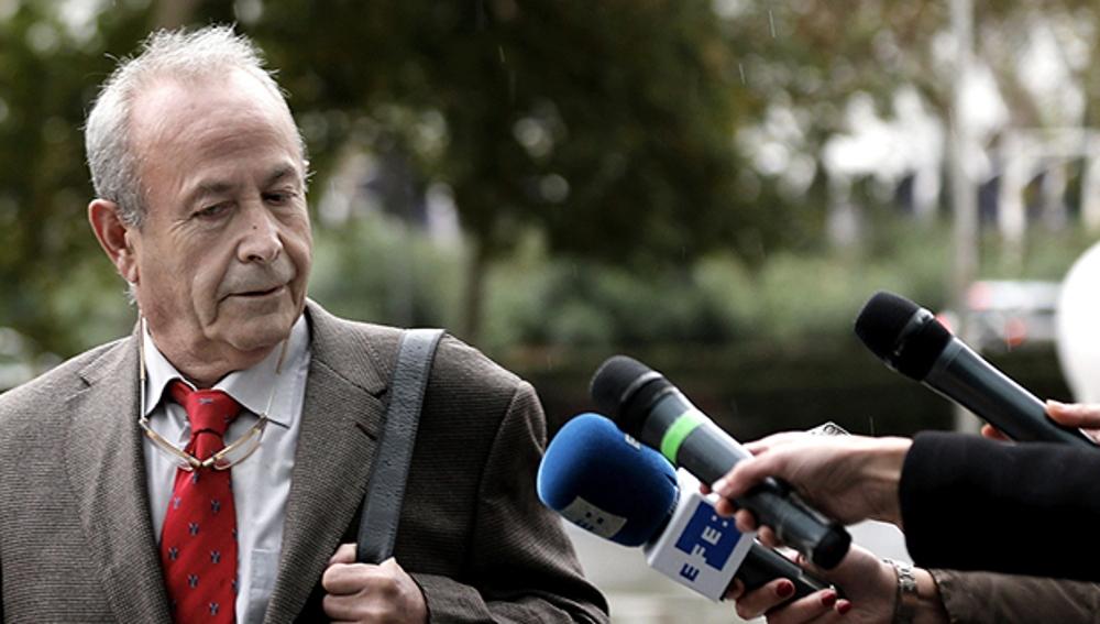 El juez José Castro en la Ciudad de la Justicia de Valencia