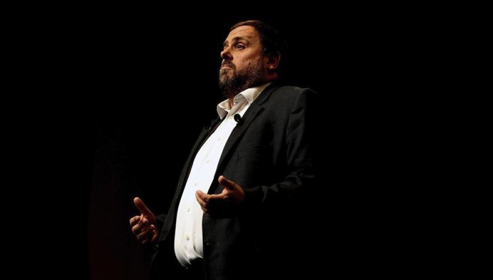 Oriol Junqueras explica la hoja de ruta de ERC