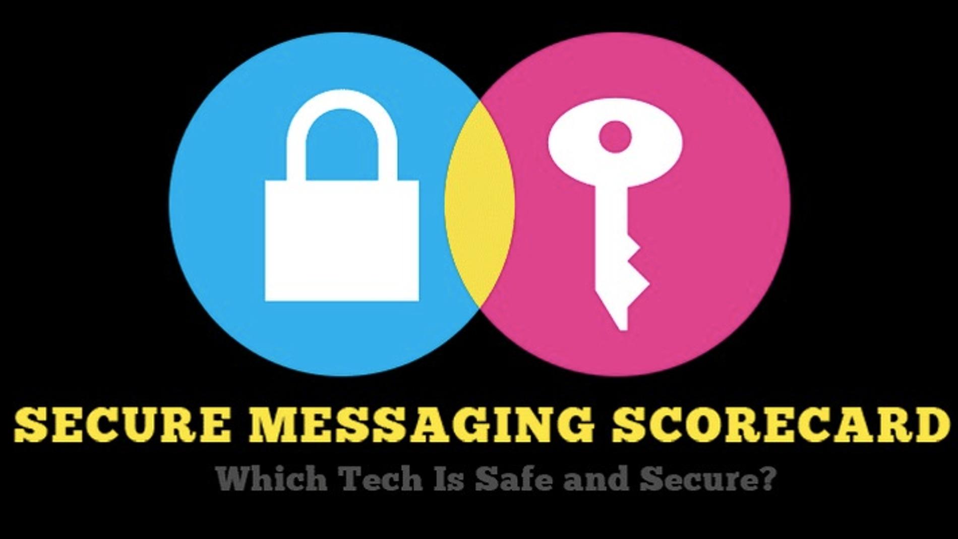 ¿Conoces el nivel de seguridad de tus apps de mensajería?