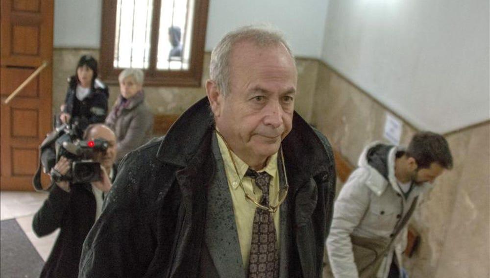El juez Castro en la Audiencia de Palma