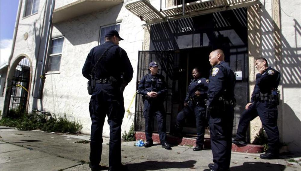 Agentes de Policía en Souderton, Pensilvania