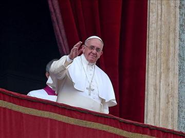 El papa Francisco da la bendición 'Urbi et Orbi'
