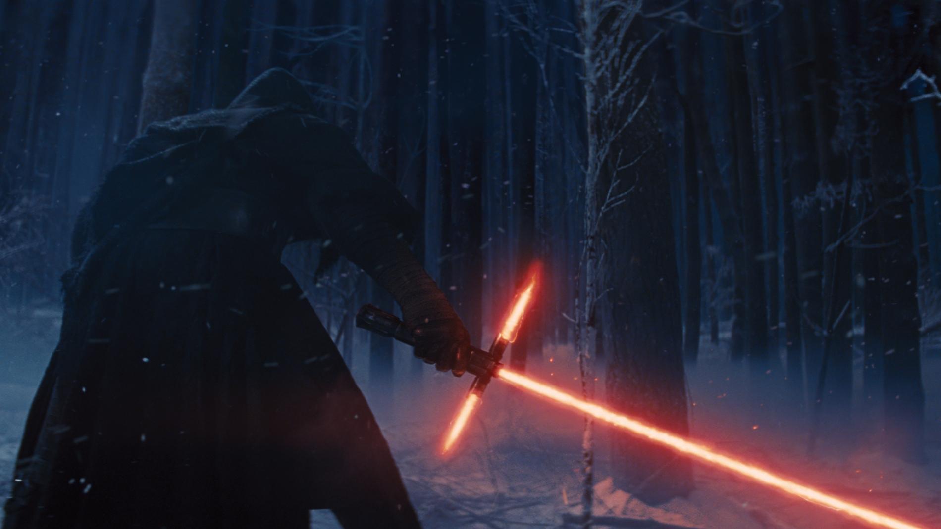 Fotograma de la nueva de Star Wars