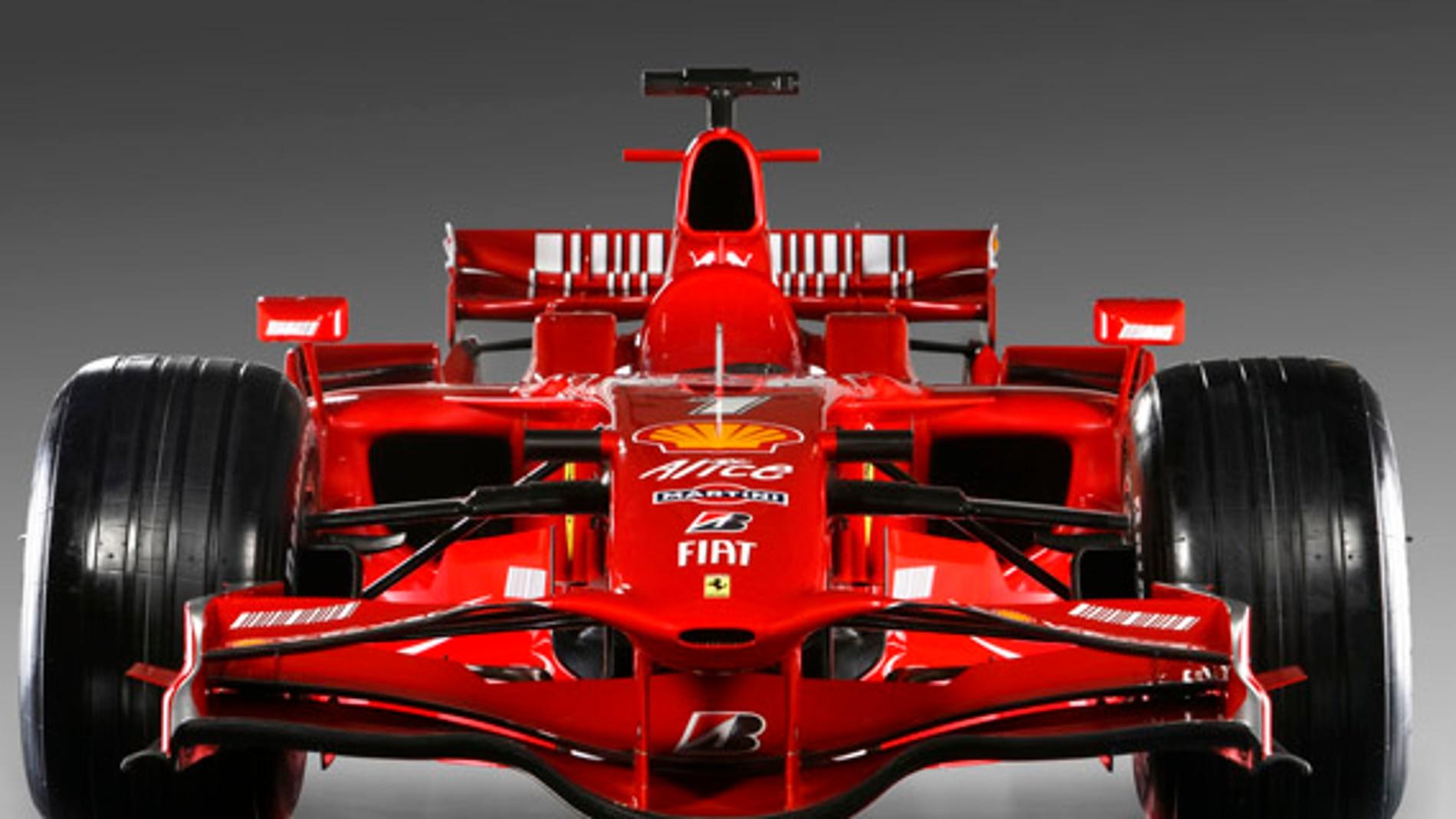 Ferrari de fibra de carbono