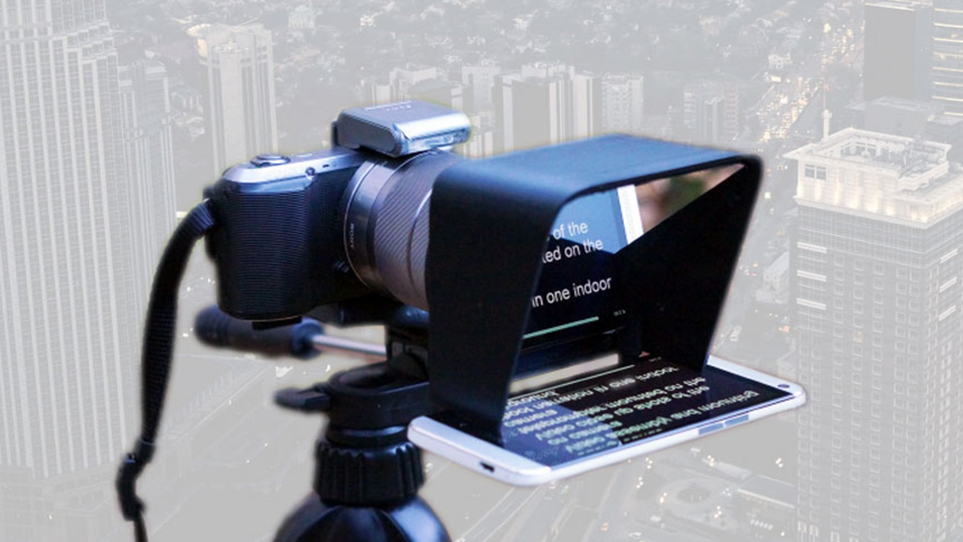 Teleprompter en tu cámara de fotos
