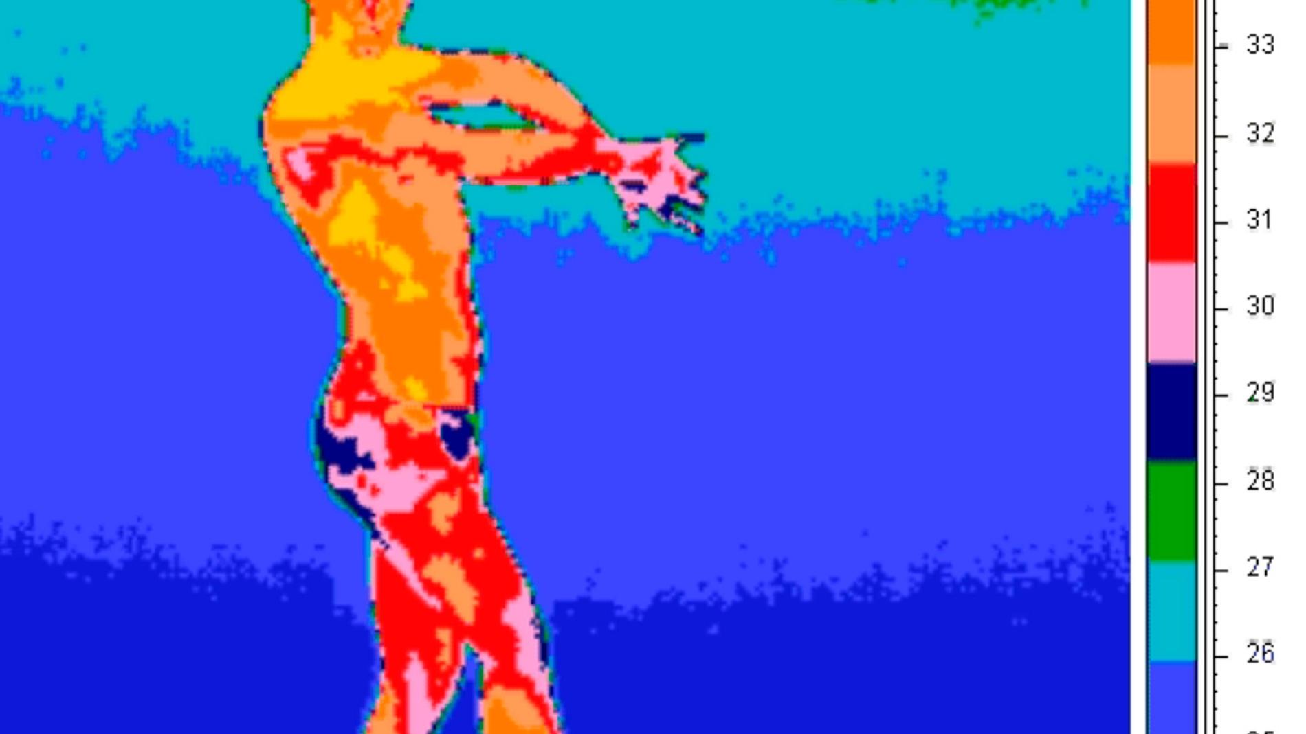 Imagen de una de las bailaoras que part