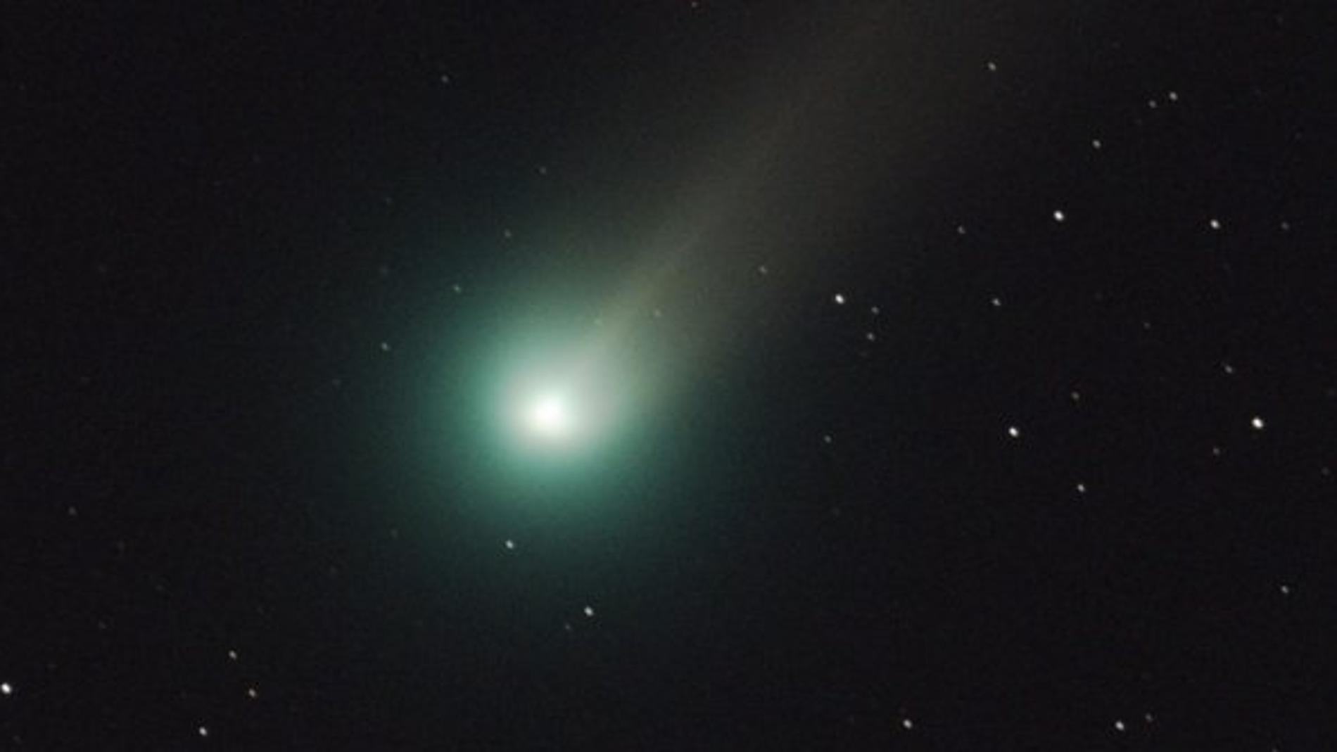 Imagen del cometa Lovejoy