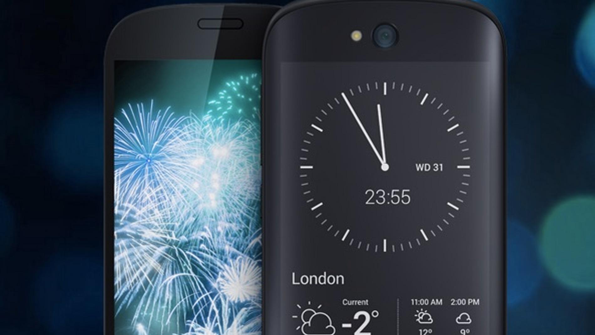 Yotaphone 2, el teléfono de las dos pantallas