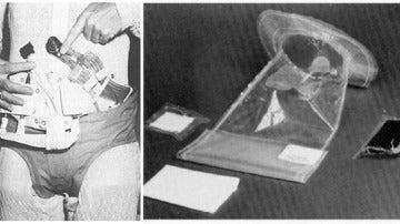 Sistema de recolector de orina y bolsa fecal del proyecto Apolo