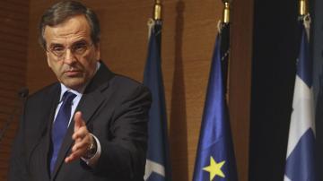 El primer ministro griego, Antonis Samarás