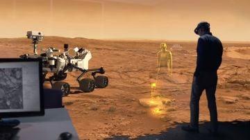 Onsight recrea la realidad virtual de Marte