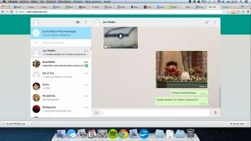 Whatsapp Web en un Mac