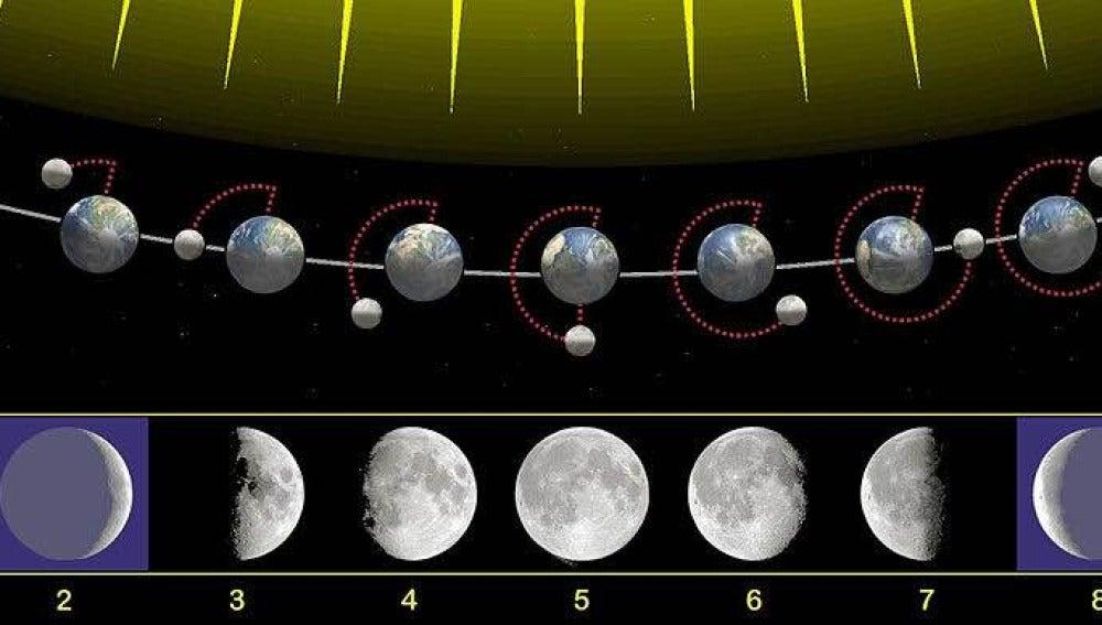 TECNOXPLORA   La Luna no tiene cuatro fases, sino ocho