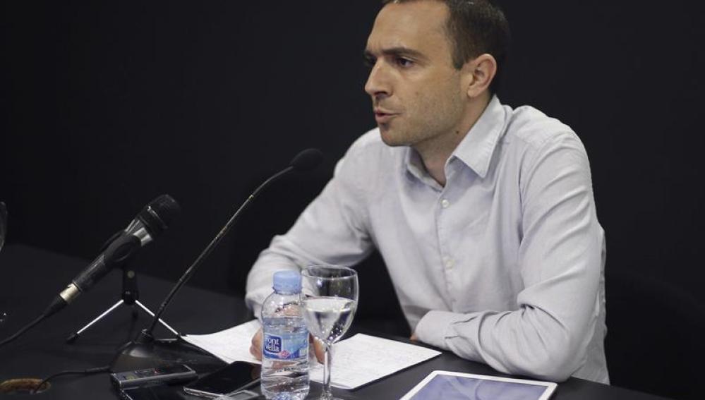 Uno de los fundadores de Podemos, Luis Alegre