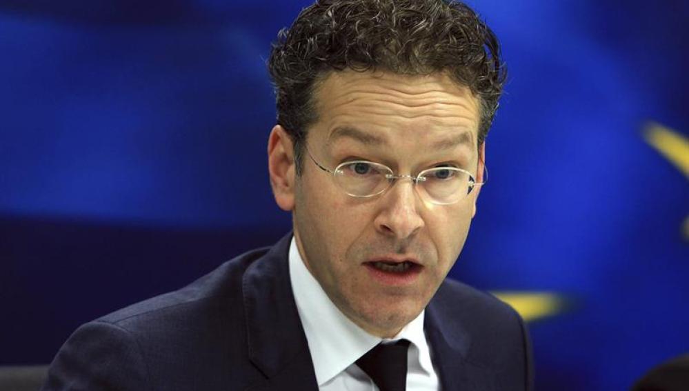 Jeroen Dijsselbloem, líder del Eurogrupo