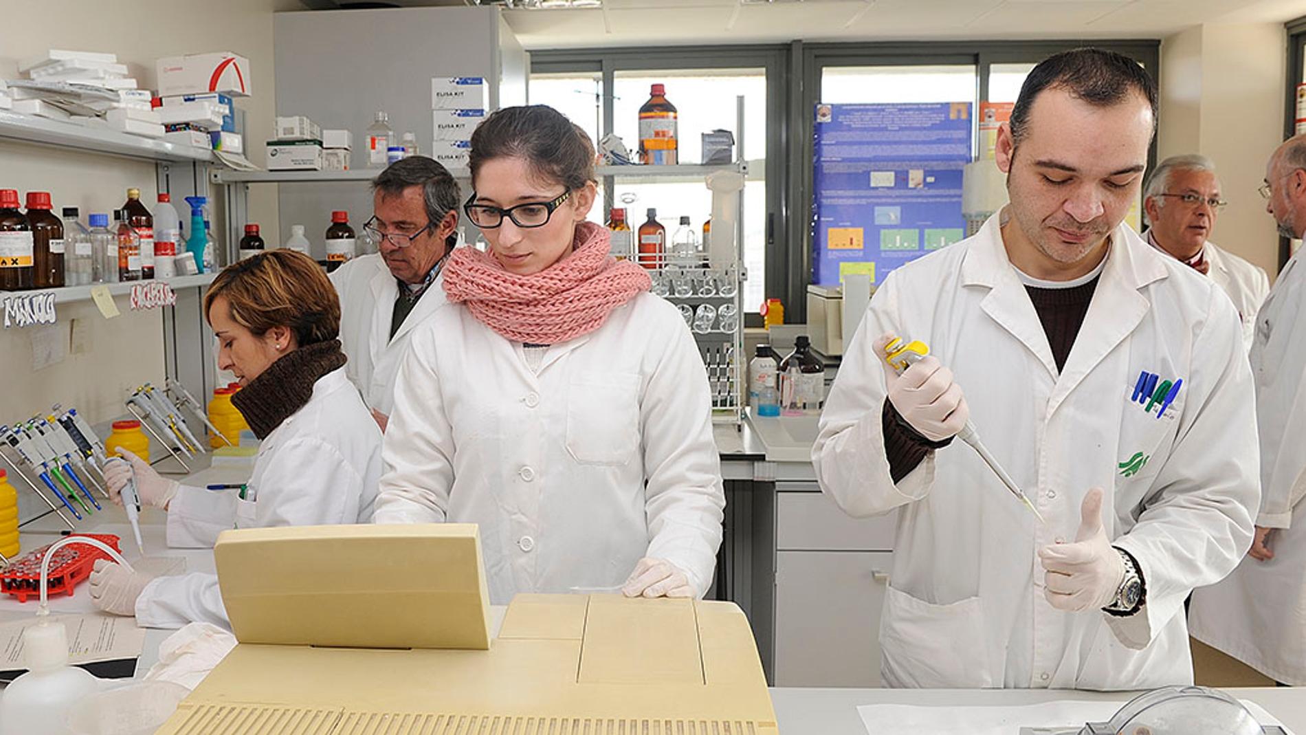 Investigadores del Departamento de Bioqu