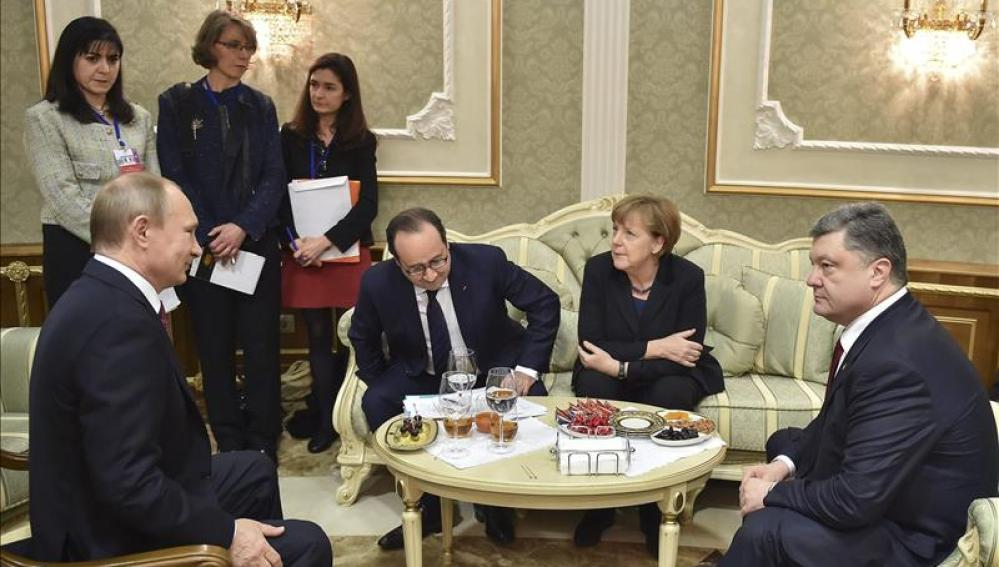 Cumbre europea en Minsk
