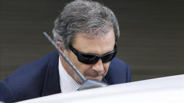 Jordi Pujol Ferrusola sale de la Audiencia Nacional