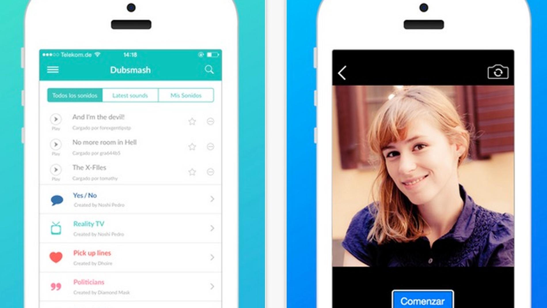 Una app para doblar vídeos que se ha vuelto viral