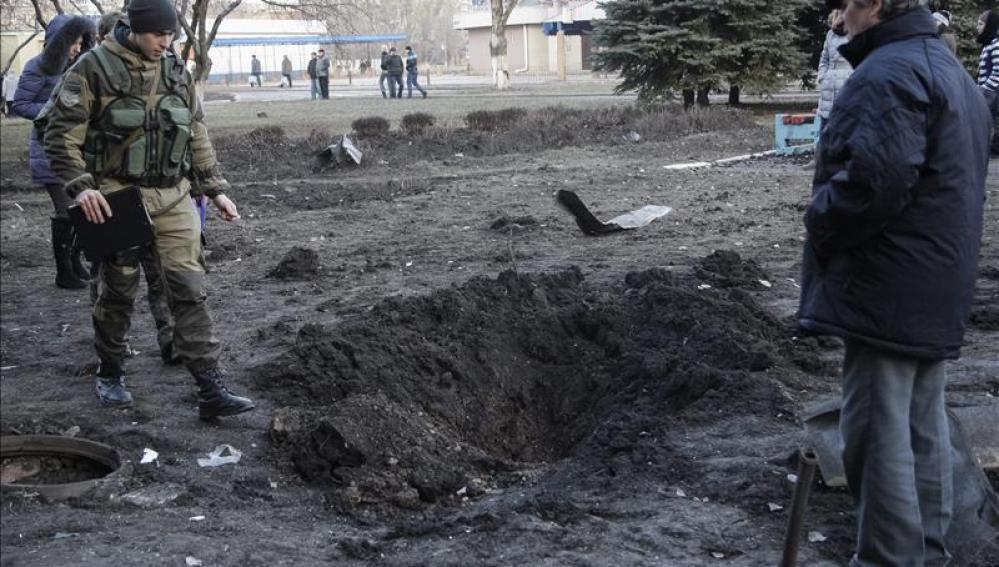 Ataques de los prorrusos en Ucrania
