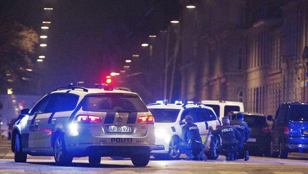 Operación policial en Copenhague