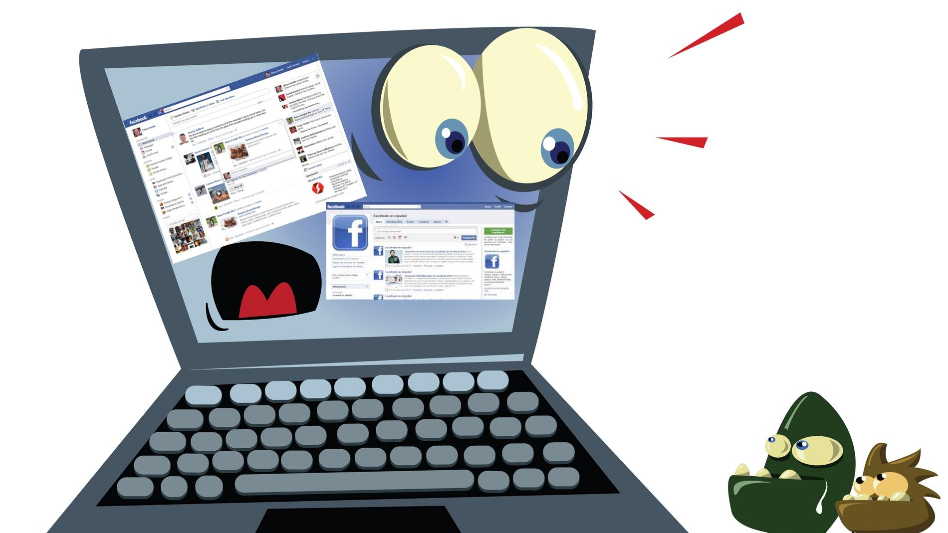 Cuidado con los virus de Facebook