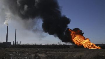 Bombardeo en Debaltsevo