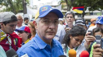 El alcalde de Caracas, Antonio Ledezma