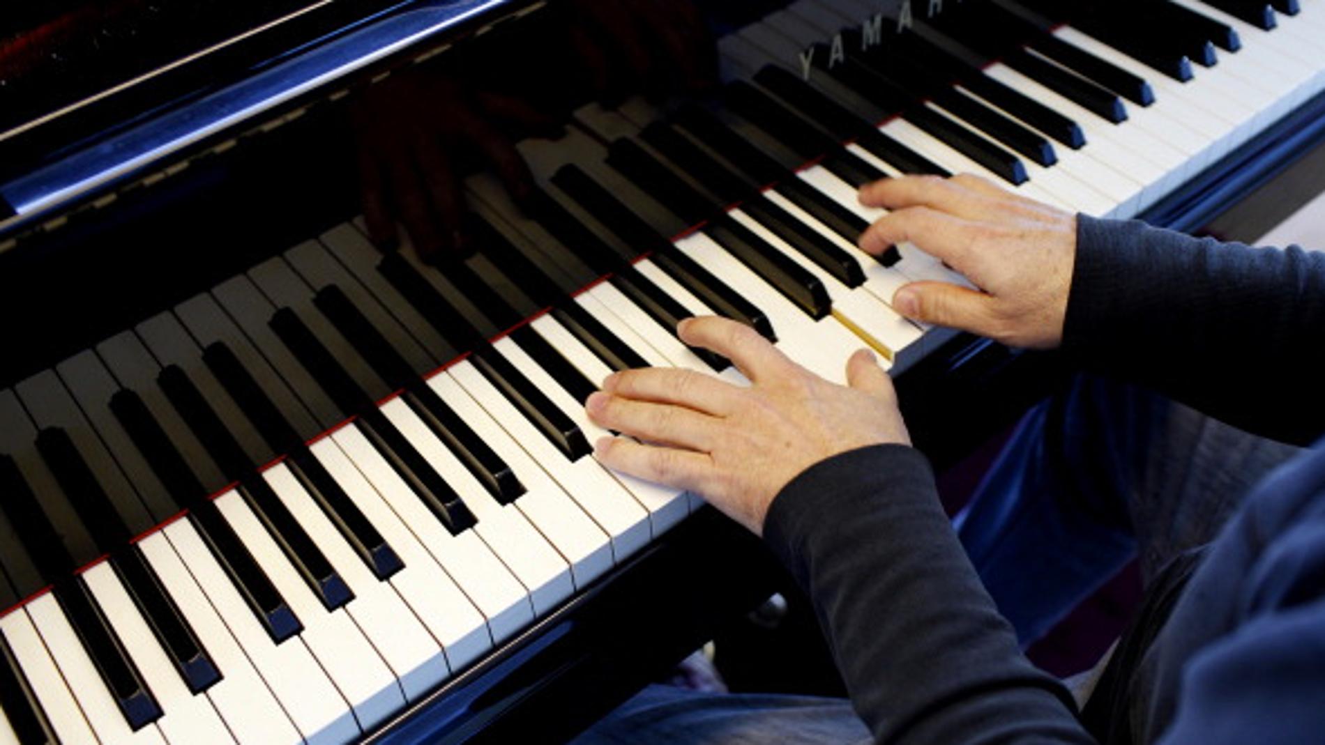 Las manos de un pianista