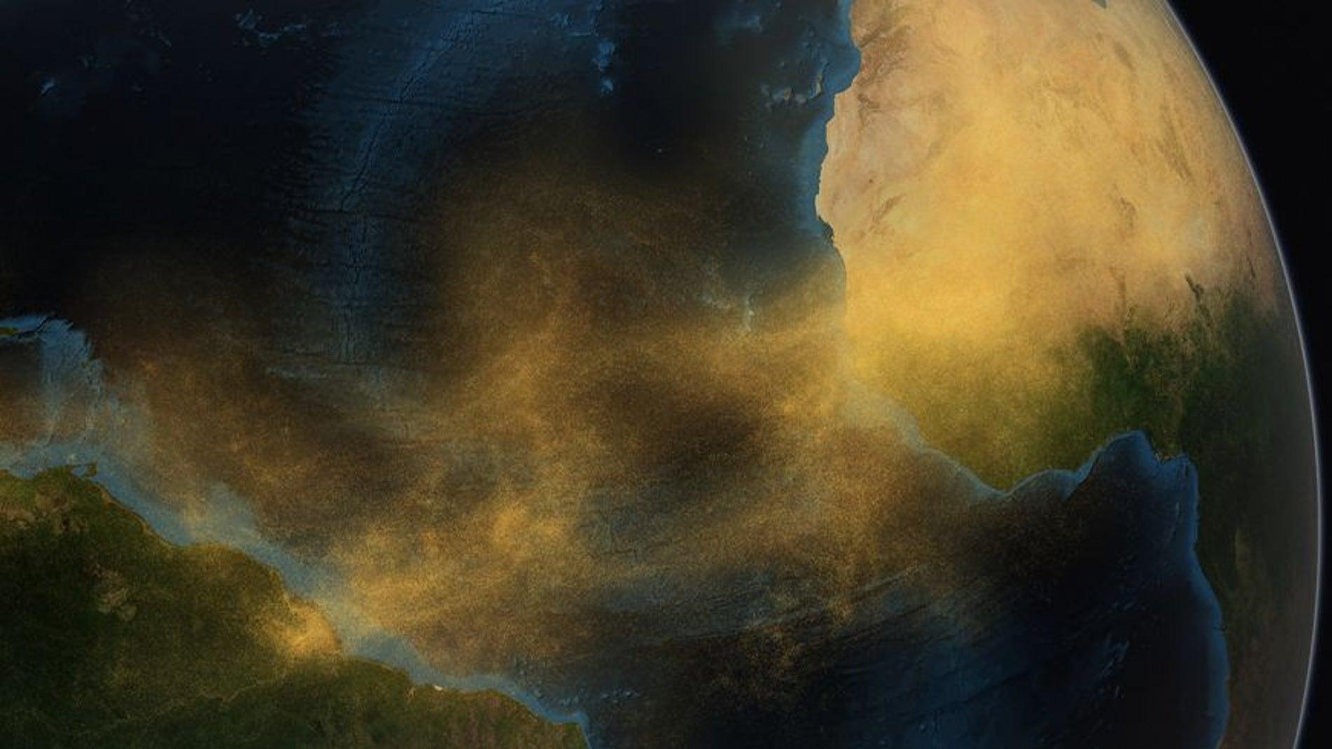 El Amazonas depende del Sahara