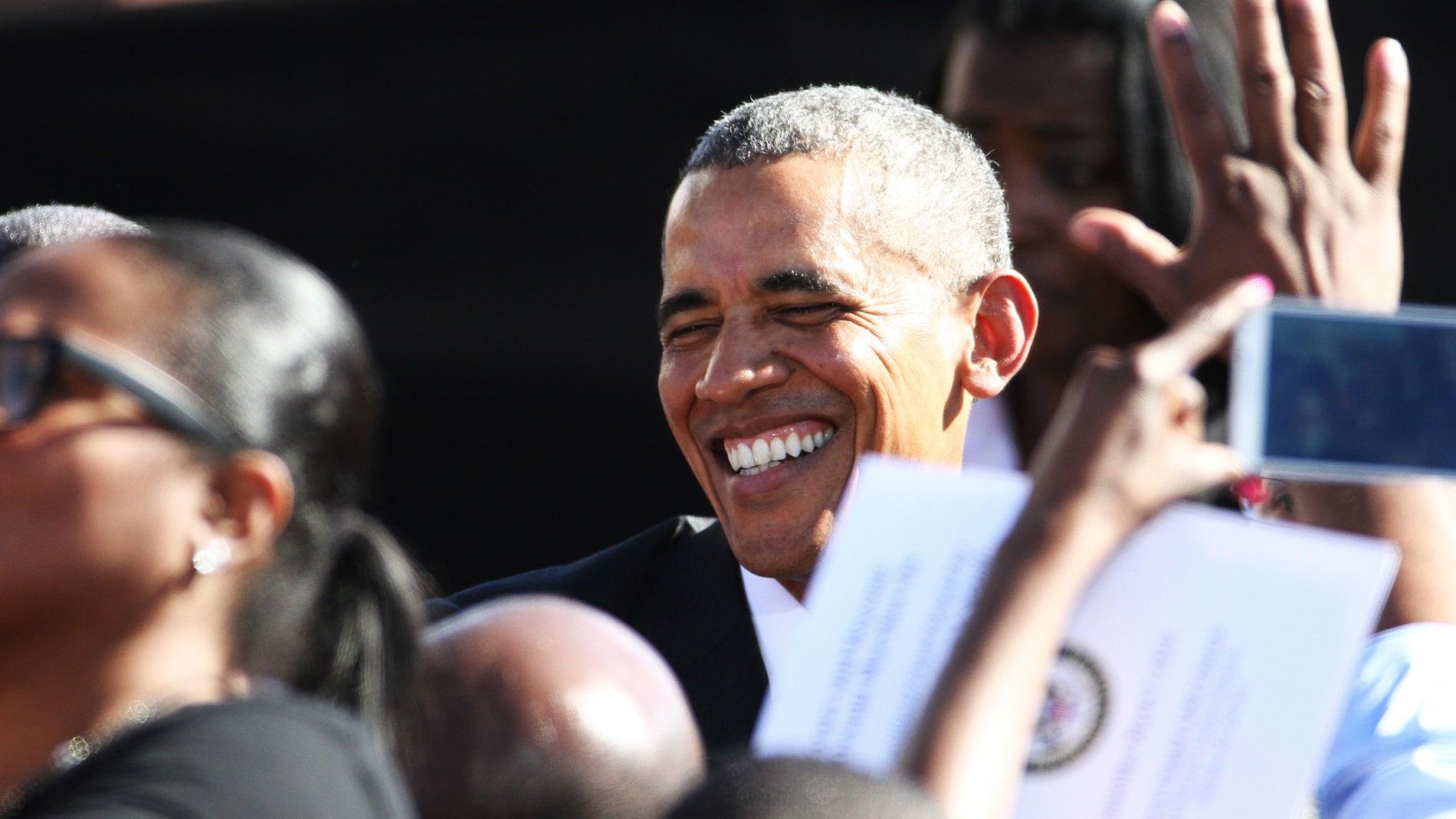 El presidente de EE UU, Barak Obama, en