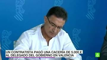 Serafín Castellano niega que le regalaran una cacería