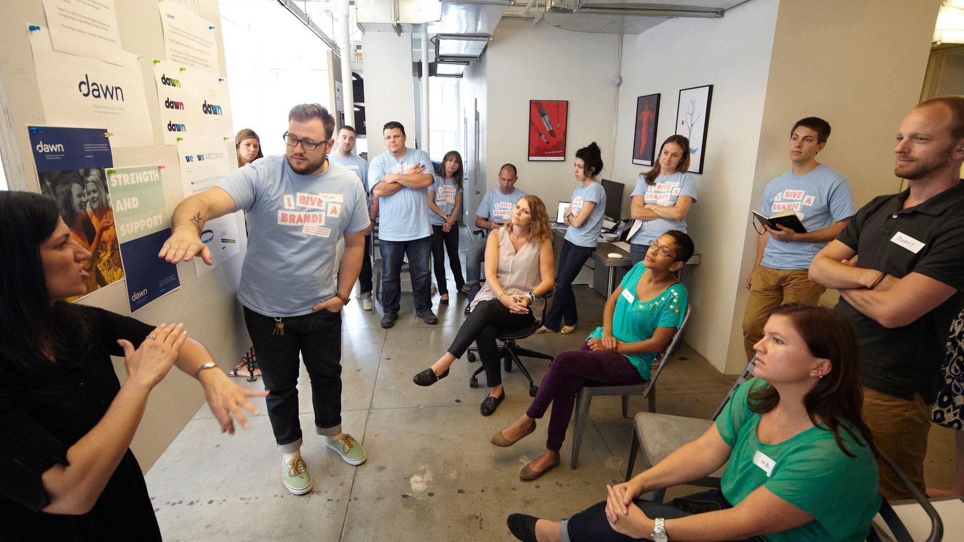 Reunión para diseñar tu start-up