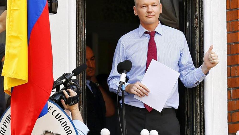 El fundador de WikiLeaks, el australiano Julian Assange.