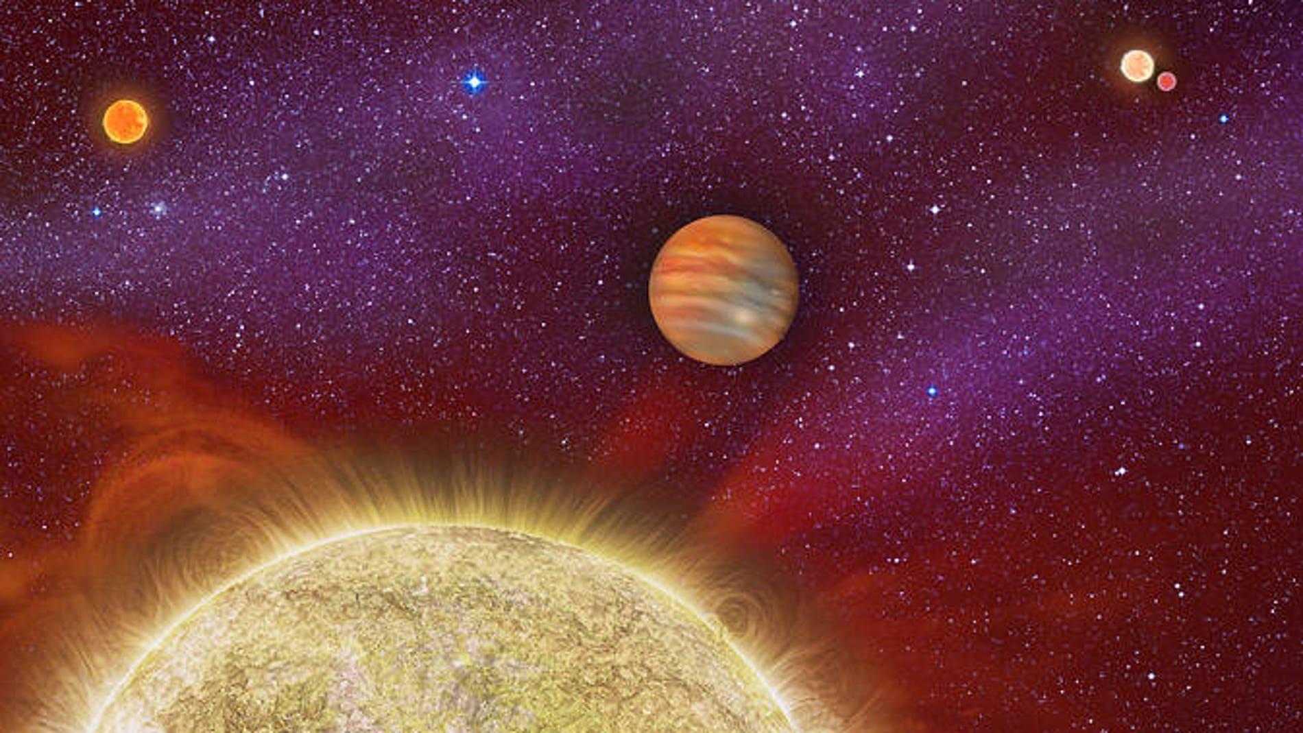 La cuarta estrella 'madre' de un exoplaneta