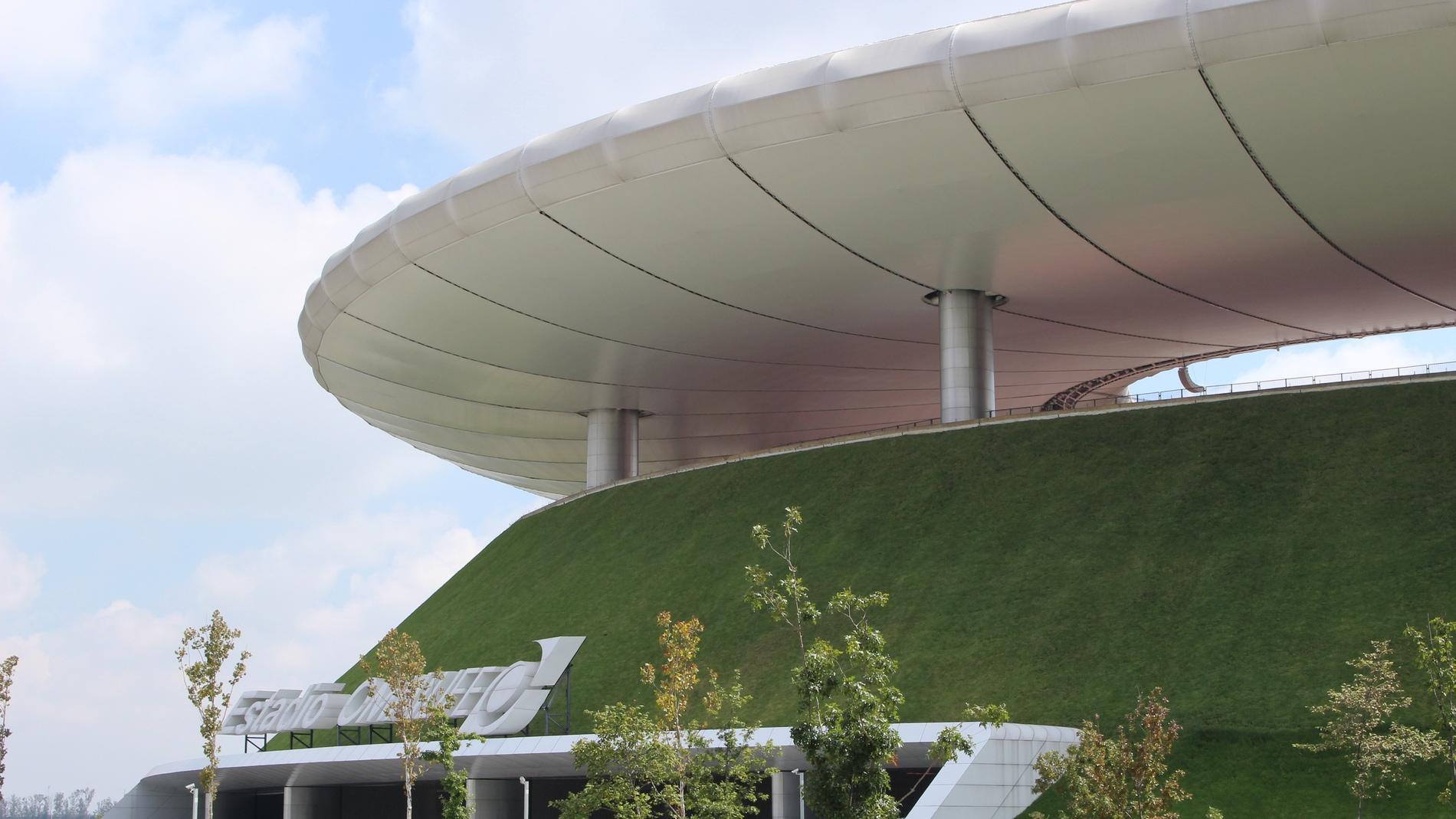 Cubierta ecológica del Estadio Omnilife