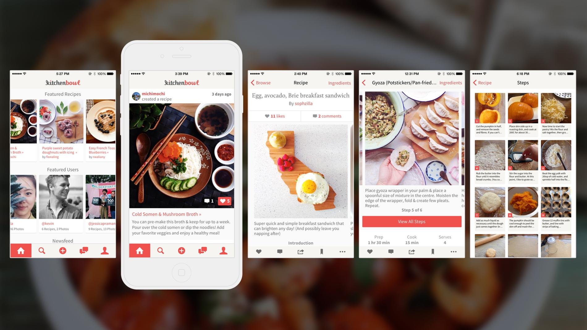 Aplicación KitchenBowl