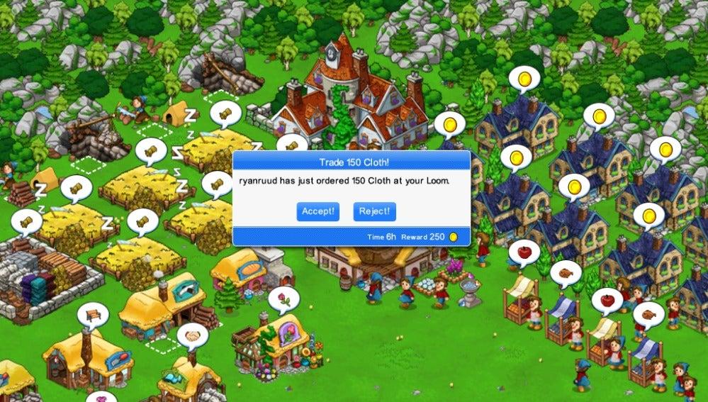 Captura de videojuego 'freemium'