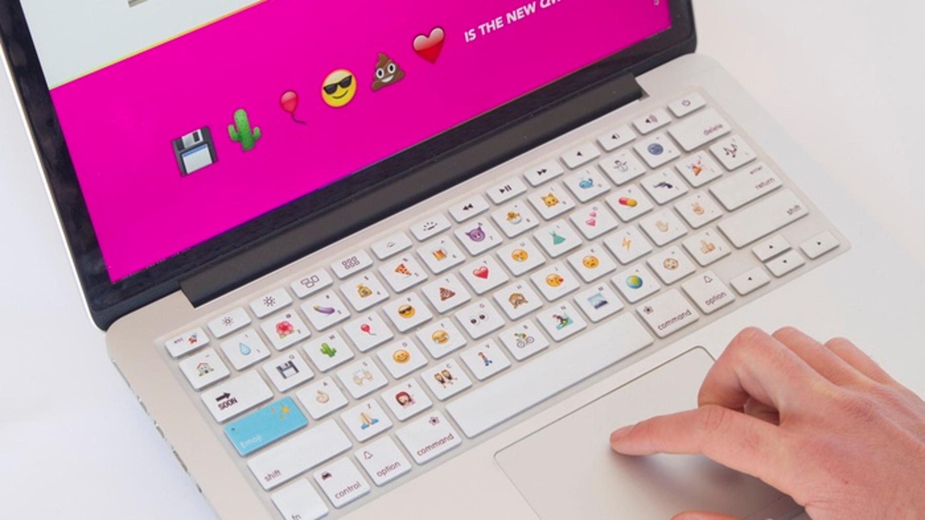 Teclado para escribir con emojis