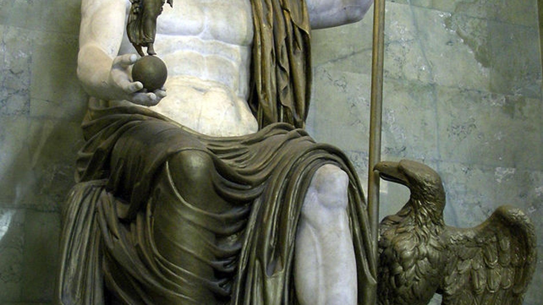 Zeus de Dresde en el Museo del Hermitage